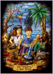 Poster The Pirates of Rat River